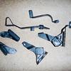 item: stock footpeg mounts, footpegs, brake lever & clutch lever.<br /> <br /> price: $100 obo.