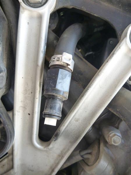 fuel pump quick disconnect line.