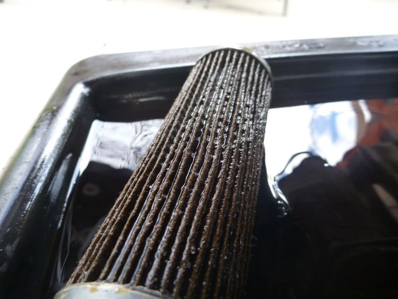 normal wear on the oil filter - no need for waterpump stuff. currently almost @ 30k miles w/out replacing the water pump.