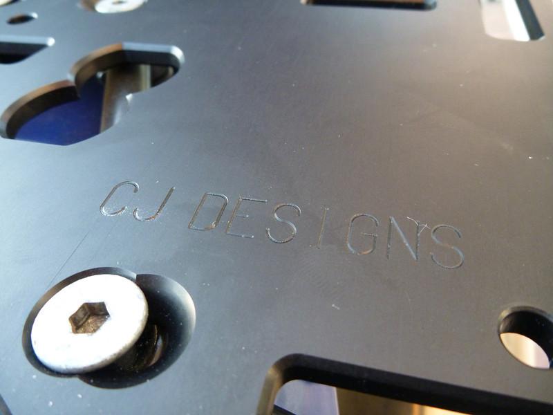 CJDesigns LC8 ADV/SE rear rack - new design.