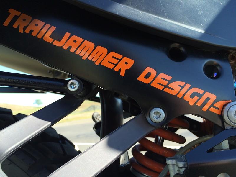 TrailJammer Designs Exhaust Guard