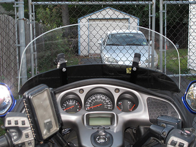 GL1800 windshield