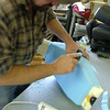 Time to get to work shaping the seat.