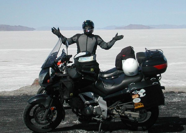 Keith at Bonneville in '06