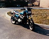 I bought a Honda 700 Nighthawk S new in 1984. This was taken with a Kodak Disk Camera in '84