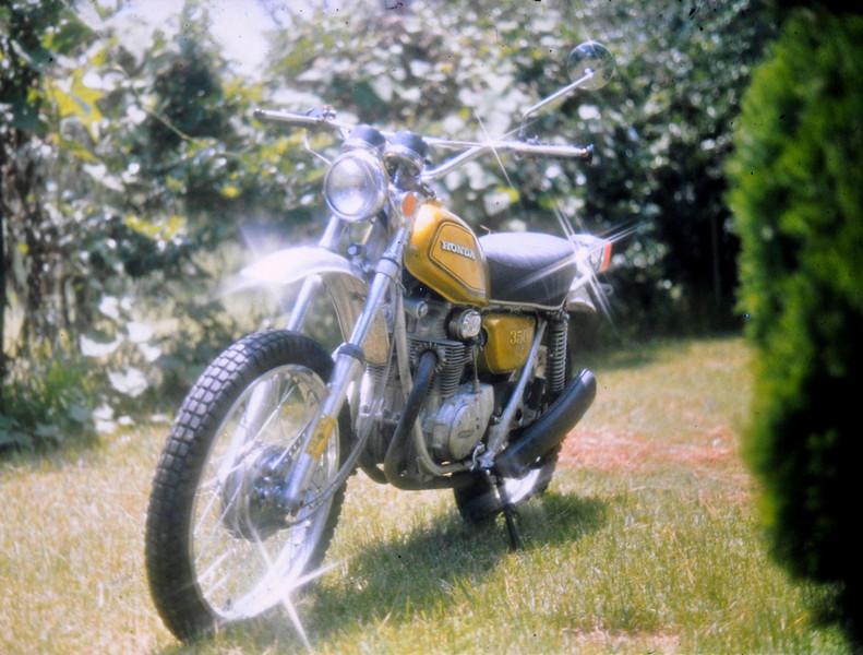 1972 Honda SL350 around 1973