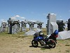 Car Henge in Nebraska, 2005