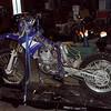 WR426 getting a carburetor bath