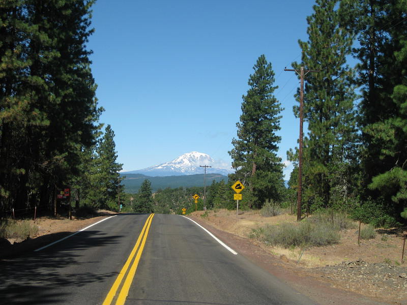 Mt. Adams from the Goldendale-Glenwood Hwy.