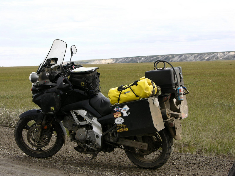Adventure ready V-Strom