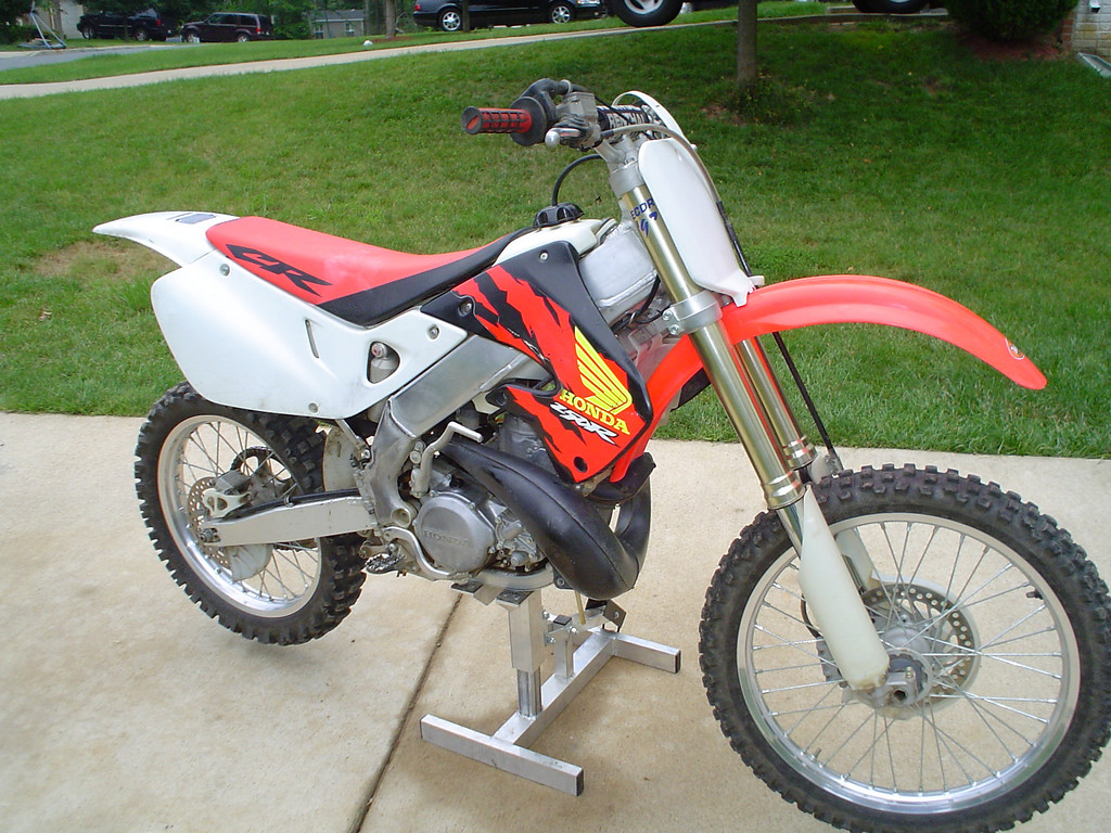 1997 CR250-First Day