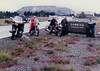Rick, John, Tim, Curt and Dale on our first group ride together. Around 1986