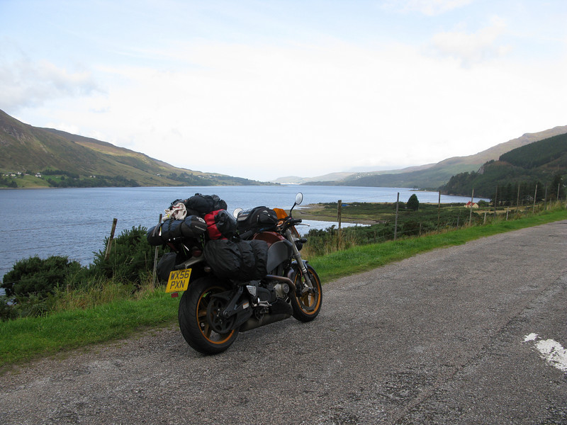 On the road to Ullapool