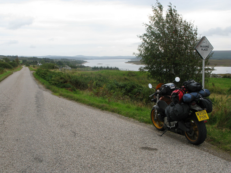 Heading down the A838 to Lairg