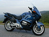 BMW R1100RT without bags and top case