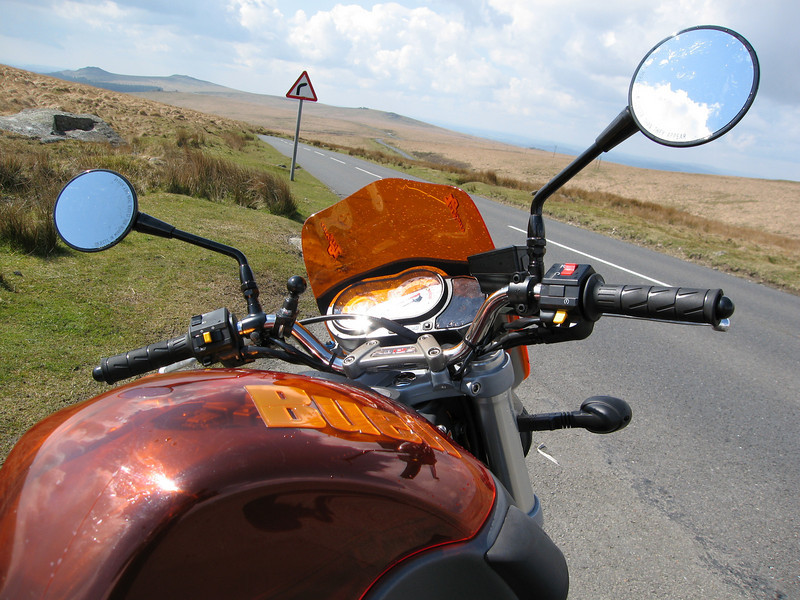 Buell on Dartmoor 2