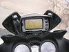 GPS screen at the top of Mt Evans in Colorado in 2006. The elevation is in the top right corner = 14,157 feet.