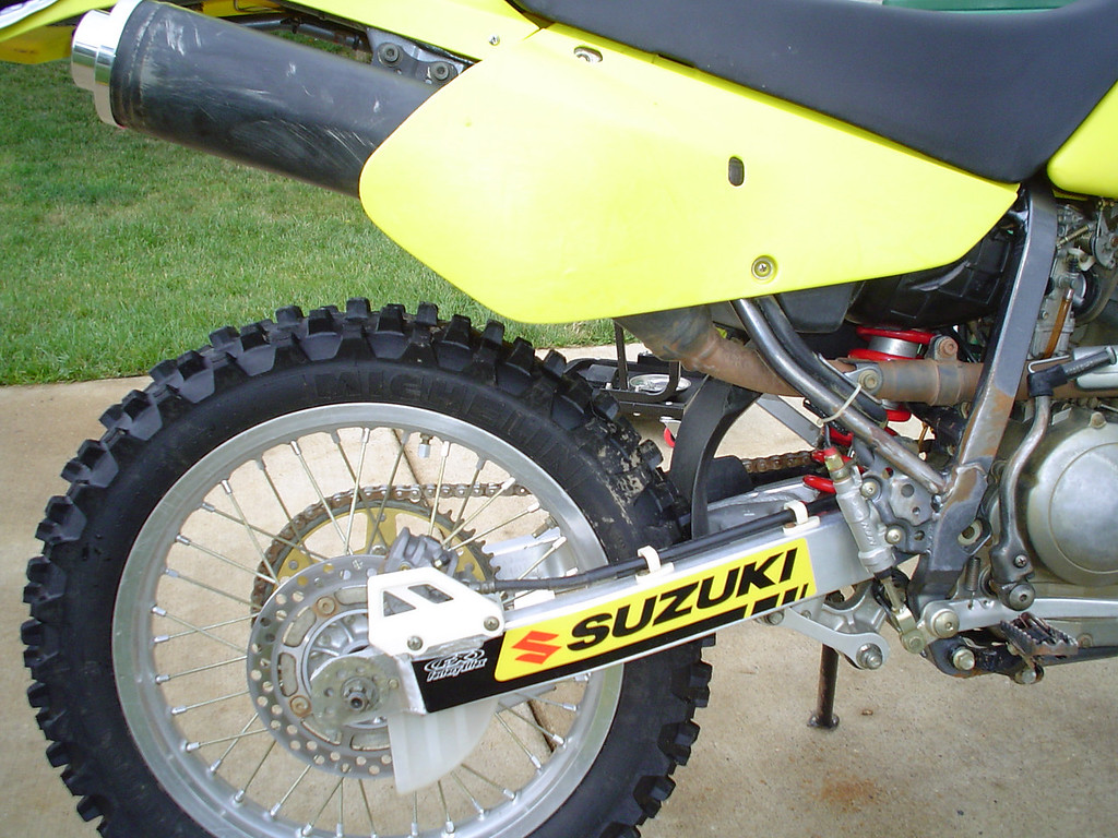 2002 DRZ250<br /> New S12 and Swingarm Decal