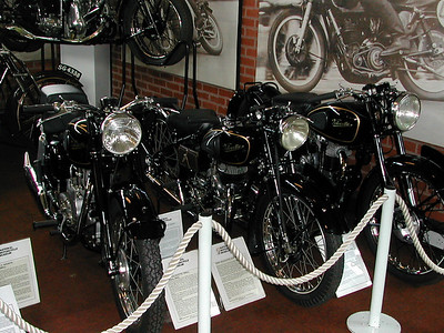 Birmingham UK Motorcycle Museum 2003