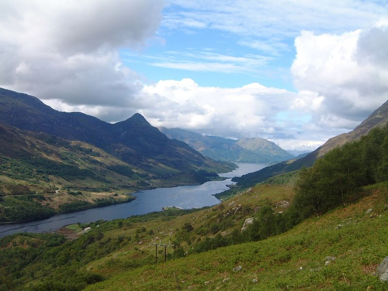 Pap of Glencoe from Mamore<br /> Picture in the Lochy