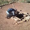 Day 2 - Gary at 3 Kiva ruins in Montezuma Creek Canyon
