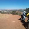 Heading down Elk Ridge towards Beef Basin