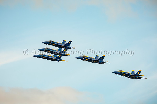 Blue Angels at JBER Air Show