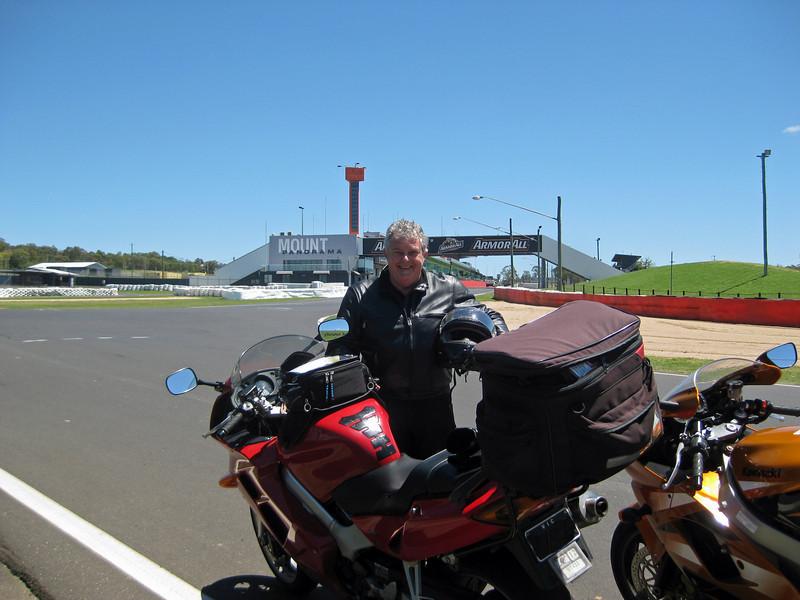 Mount Panorama race circuit, Bathurst NSW.