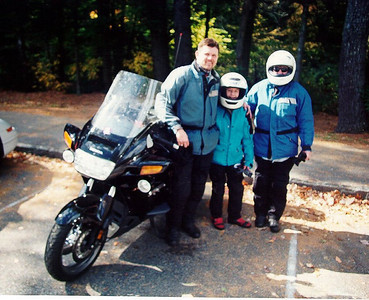 Shane Smith and Family, Blue Ridge Pkwy, oct 2000