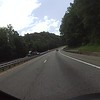 The Saluda Grade on I26 dropping out of the mountains to the Piedmont.