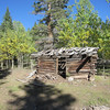 Dark Valley is another area we explore.  This old cabin is near the access road.