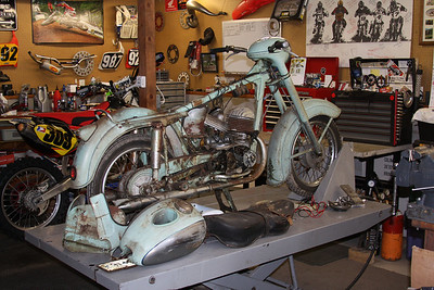 1957 Jawa project bike