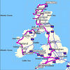 The whole route of 3,163 miles. A grand fortnight out - with grand company
