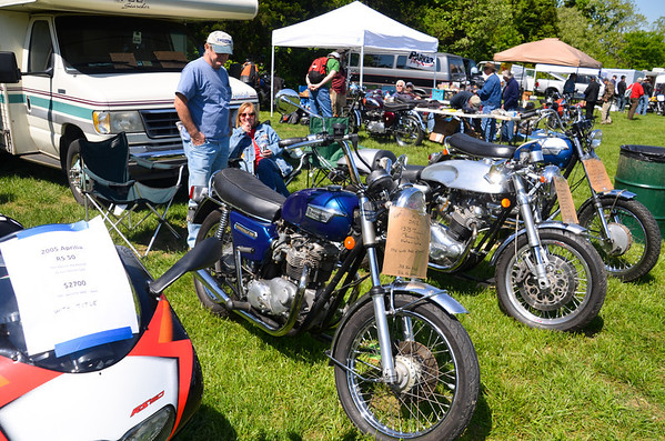 British & European Classic Motorcycle Day 2014 -1