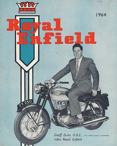 Brochures of Old British Motor Cycles from the 60's