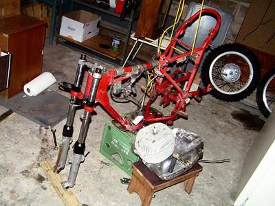 matador oct 15 2006 the strip down, engine out