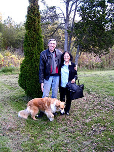 Mike Batty & family - the Bultaco guy -, carrying place, Ont, oct 7, 2006s