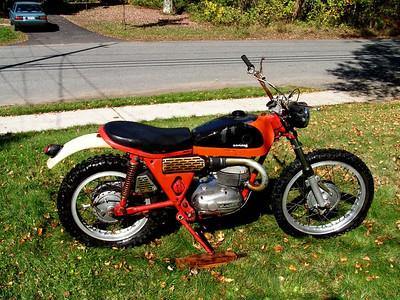 Tom's Bultaco Matador, oct 8, 2006st