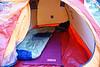 Tent closeup. Perhaps the best Adv tent.