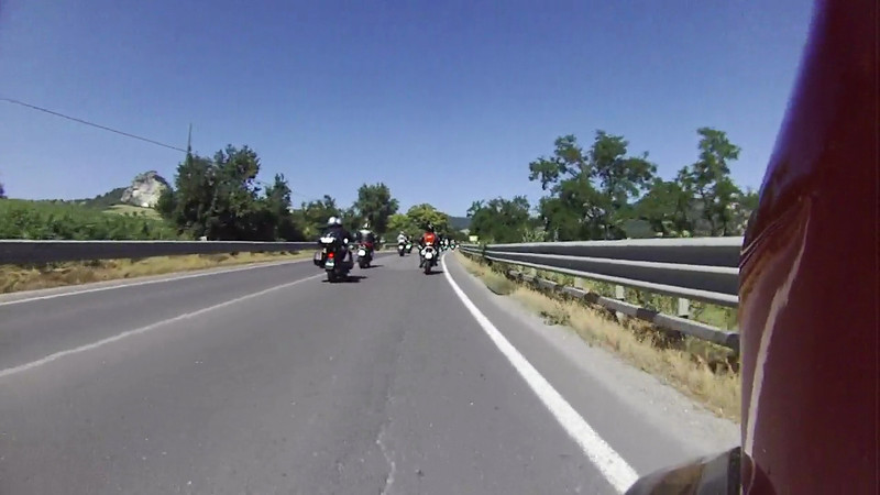 14 minute video of the road to San Leo Castle - Great scenery - 06/17/2012
