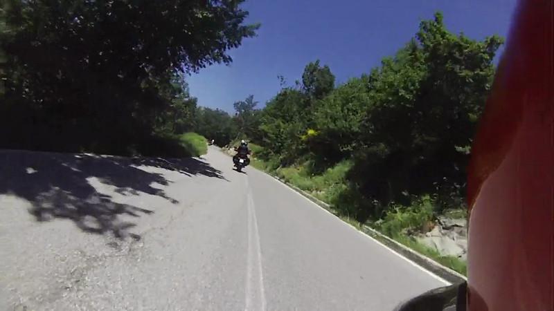 Riding two up in Italy - Ted & Sharon, Rich & Vicki and Bob & Svetlana - 06/19/2012