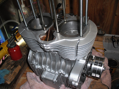 CB450 Engine