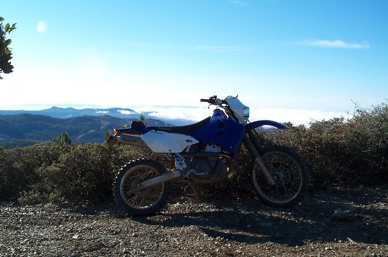 The dirt bike!