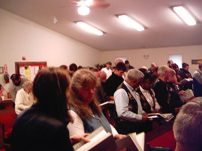 OLR Church visit w/ Pete Barnes speaking