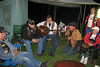 Gary, 'Jammer', Joel, Chuck, Pete, and Miriam