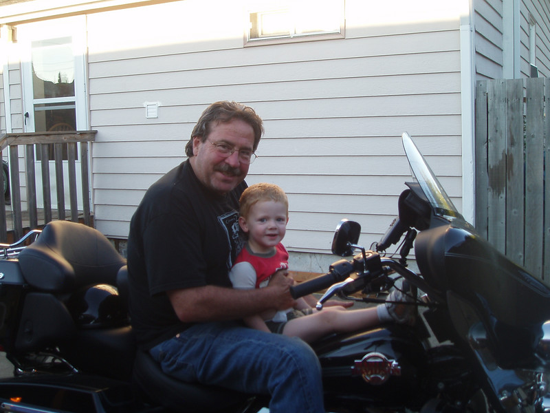 Frank Yslas with grandson Jason David Howell - check comments!