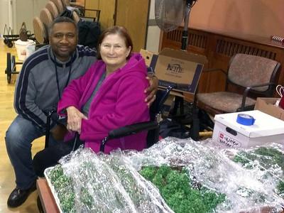 Veteran's Hospital CMA Christmas Visit