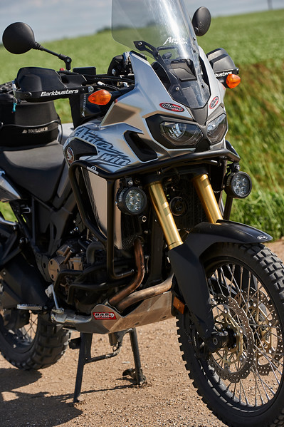CRF1000 Africa Twin - Upper Crash Bars