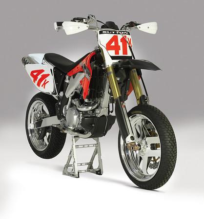 CRF450 SuperMoto