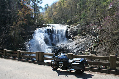 2014 Honda CTX1300 at Bald River Falls. Tennessee